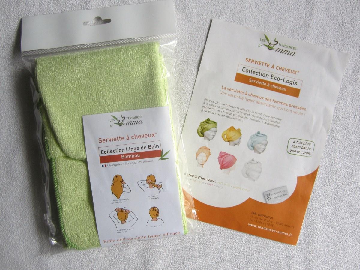 [Cheveux] Une serviette pour cheveux ultra absorbante