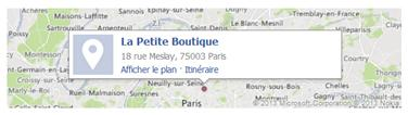 Adresse La Petite Boutique