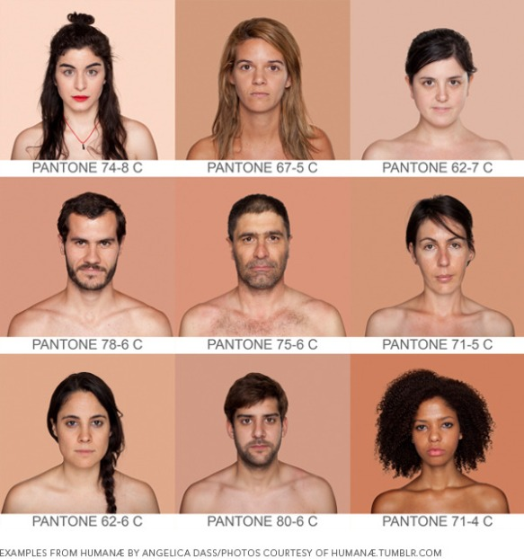 Human Pantone Color IQ