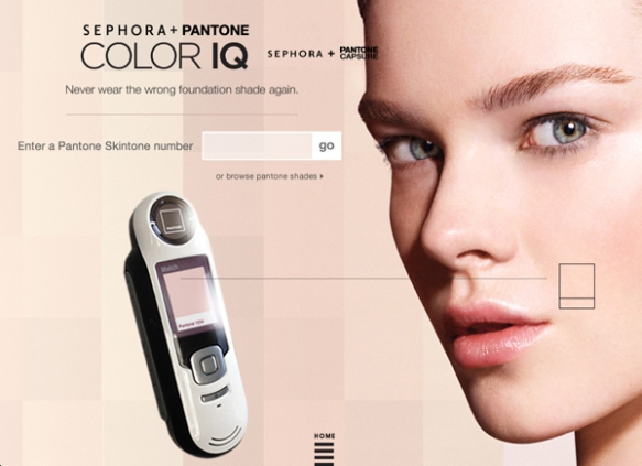 Sephora + Pantone Color IQ