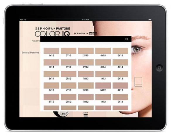 Sephora Universal Skintone Library