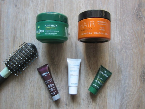 Mlle Delicieuse Stock  2013 Cheveux Masques