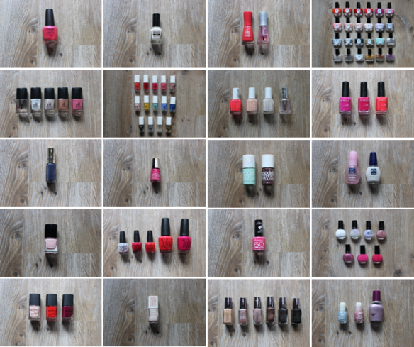 Mlle Delicieuse - Stock Janvier 2014 Vernis